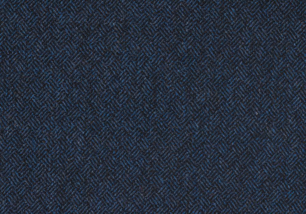 Lovat Tweed Basketweave Indigo Blue